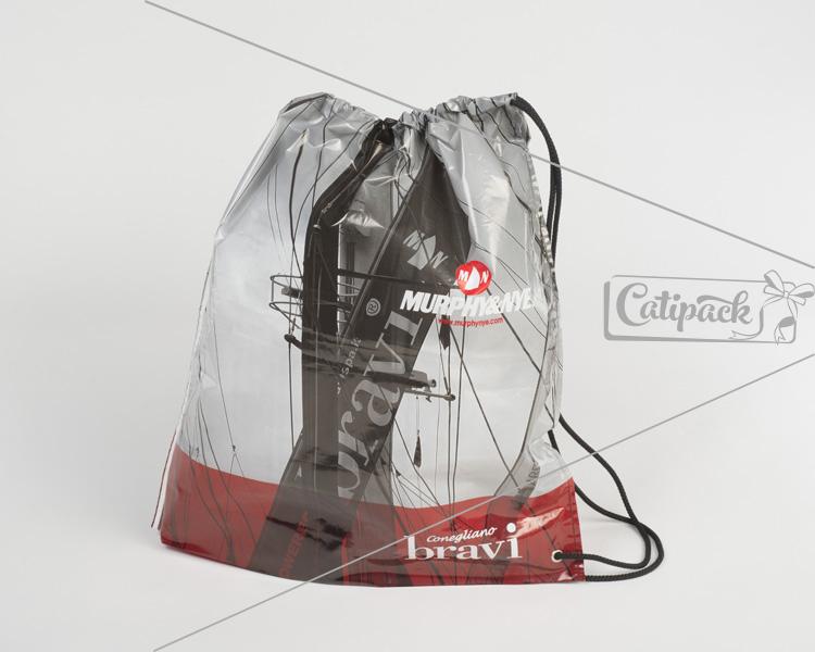 torba foliowa PLECAK - Catipack